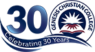 Genesis Christian College – Prep – Yr 12 | Independent | Christian | Co-educational school in Bray Park Logo